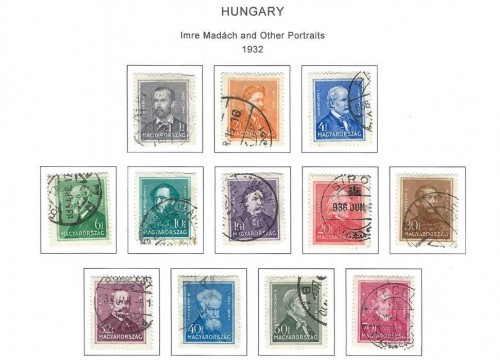 Stamps from European Countries
