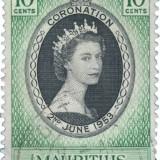 Queen-Elizabeth-1953-Coronation-Issue-Mauritius