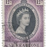 Queen-Elizabeth-1953-Coronation-Issue-Sierra-Leon