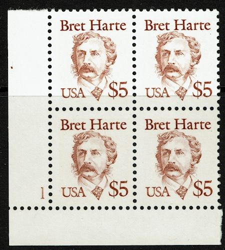 Bret Harte, American novelist and short story writer.