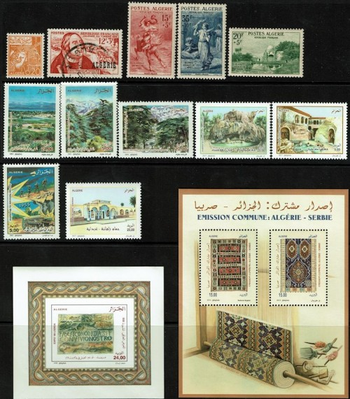 More of the Algerian stamps received today.