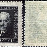 Poland-255a-Horiz-Laid-Paper-1928