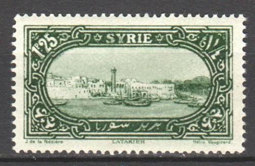 Syria 1925 Latakia
