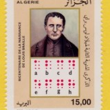 Algeria-1450-2009-Louis-Braille