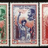 Ethiopia-Scott-Nr-357-59-1960