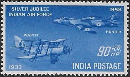 India, Scott Nr 301 (1958)