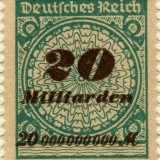 Germany-Scott-Nr298-1923