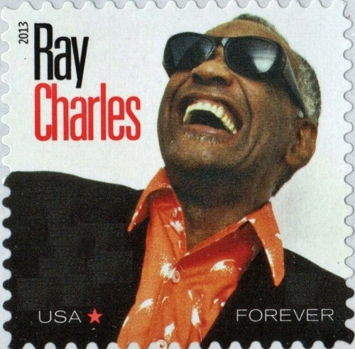 USA, Scott Nr 4807 (2013) Nov 7, 1961: Ray Charles is arrested in Indianapolis after police find marijuana and heroin in his hotel room.