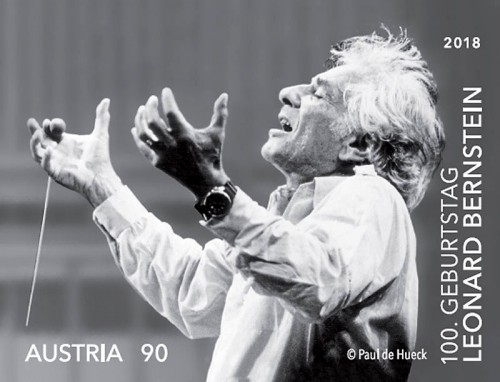 Austria Leonard Bernstein (2018) Nov 19, 1957: Leonard Bernstein becomes the 1st American-born and educated conductor to head a major American orchestra, when he is named Music Director of the New York Philharmonic.