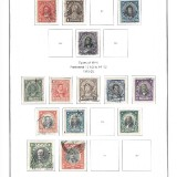 chile-stamps-page-early-20th-century