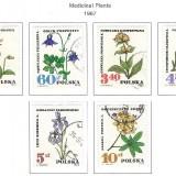medicinal-plants-1967-poland-stamps