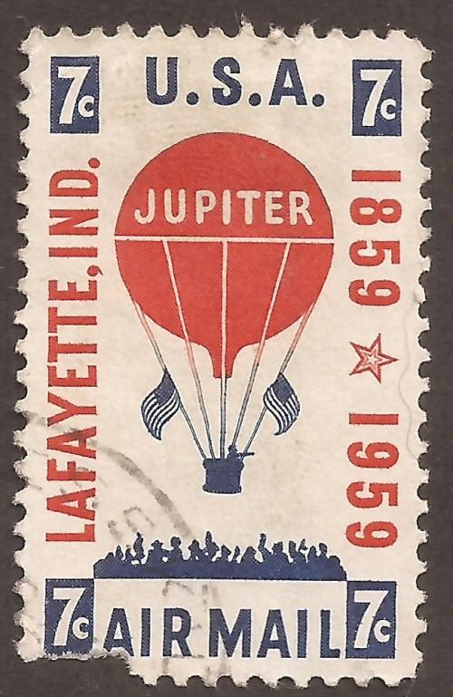 USA airmail stamp C54u
