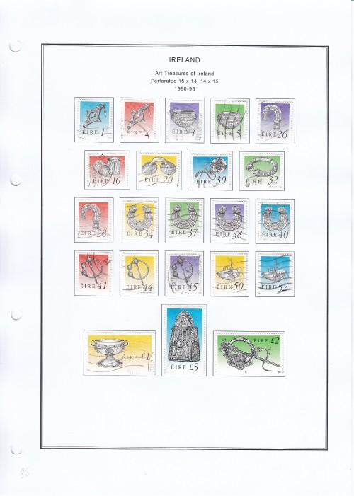 Art Tresures of Ireland 1990 95
