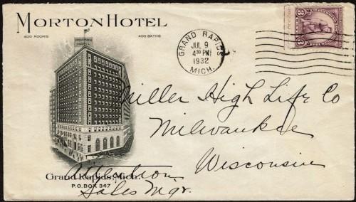 cover morton hotel