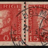 Sweden-168-Joint-Line-Pair-1928