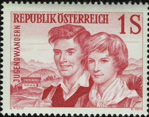 Austria Scott 652 (1960)