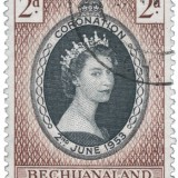 Queen-Elizabeth-Bechuanaland-Protectorate-1953-Coronation-Issue