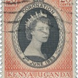 Queen-Elizabeth-Kenya-Uganda-Tanganyika-1953-Coronation-Issue