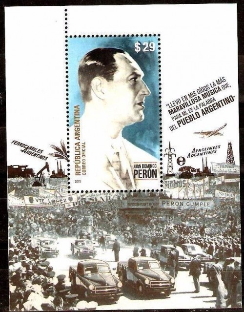 Sep 19, 1955: Peron deposed in Argentina After a decade of rule, Argentine President Juan Domingo Peron is deposed in a military coup. Peron, a demagogue who came to power in 1946 with the backing of the working classes, became increasingly authoritarian as Argentina's economy declined in the early 1950s.