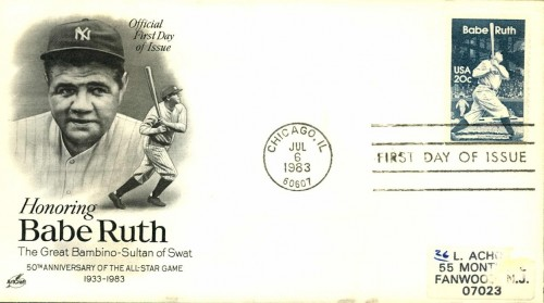USA, Scott #2046 (1983) September 20, 1927: Babe Ruth became the first player to hit 60 home runs in a season.