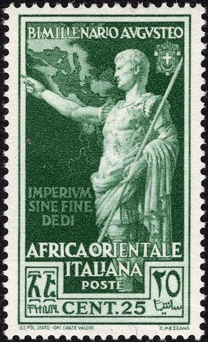 Italian East Africa, Scott Nr 23 (1938)