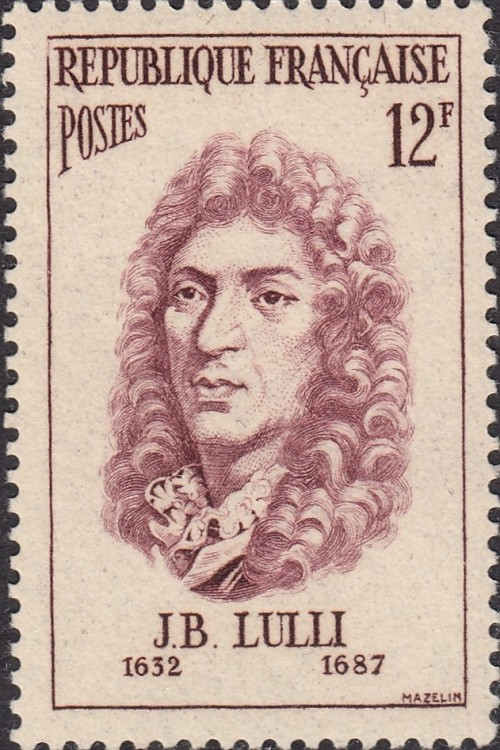 Jean-Baptiste Lully, who died after impaling his foot with a conducting staff.