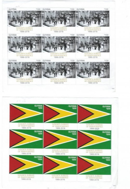 new guyanese stamps