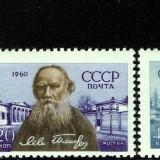 Russia-Scott-Nr-2391-93-1960-Leo-Tolstoy