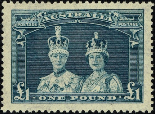 New printing of 1938 issue, on thin rough ordinary paper, versus the earlier stamp's thick smooth chalk-surfaced paper.