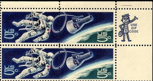 The first USA issue to show a continuous design over multiple stamps.