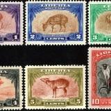 Liberia-Scott-Nr-283-88-1942