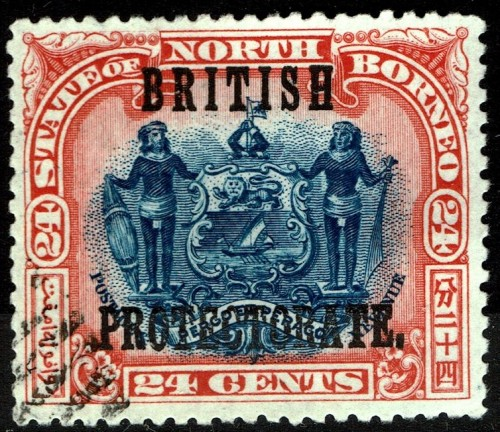 North Borneo, Scott Nr 114 (1901 05)