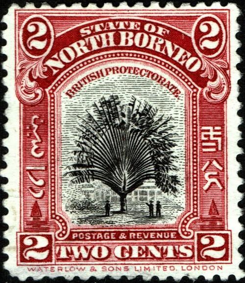 North Borneo, Scott Nr 168 (1926 28)