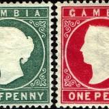 Gambia-Scott-Nr-12-13-1887