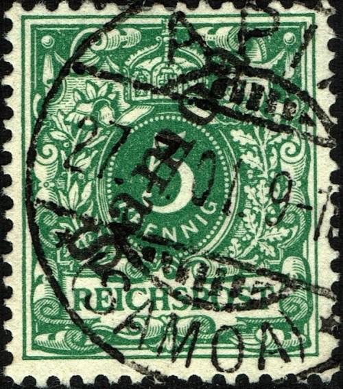 Samoa (German), Scott Nr 52 (1900)