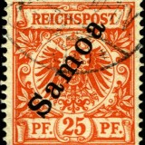 Samoa-German-Scott-Nr-55-1900
