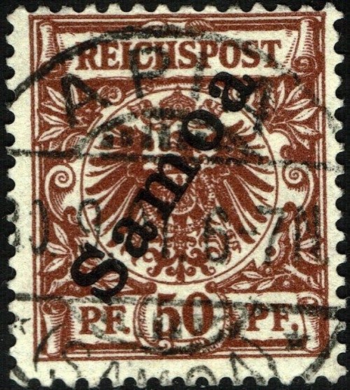 Samoa (German), Scott Nr 56 (1900)