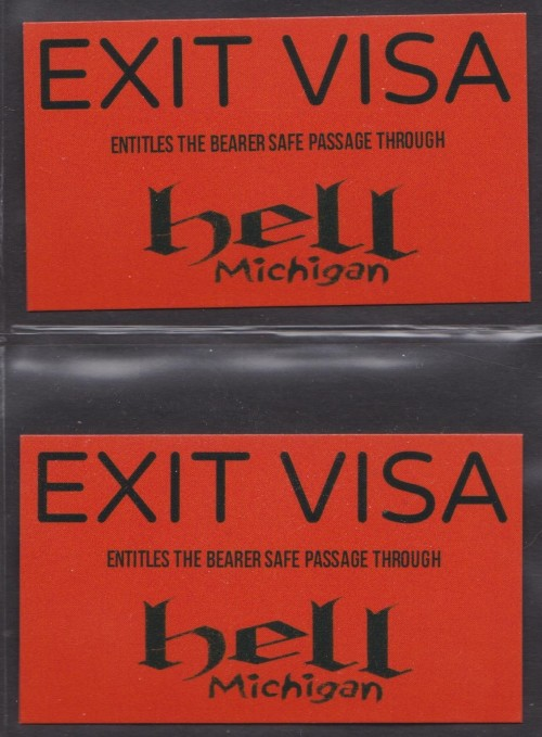 Unused Hellish Visas (TYBM Screams)