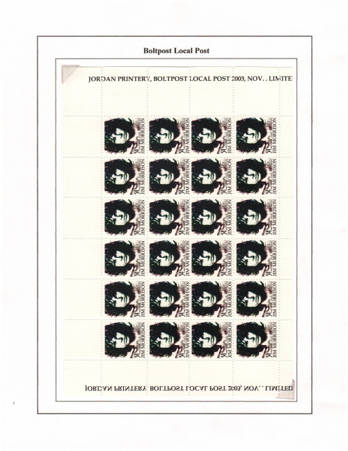 Boltpost LP 34 Jim Morrison (Nov2003)