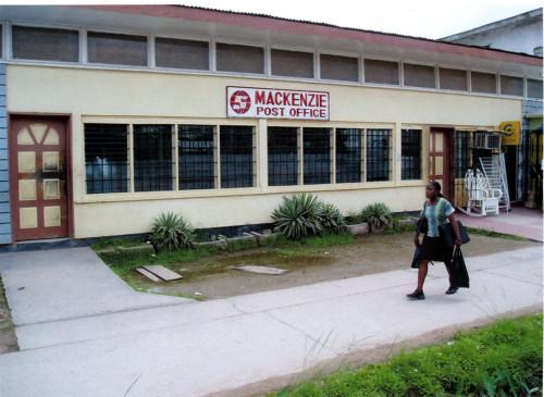 guyana mackenzie post office