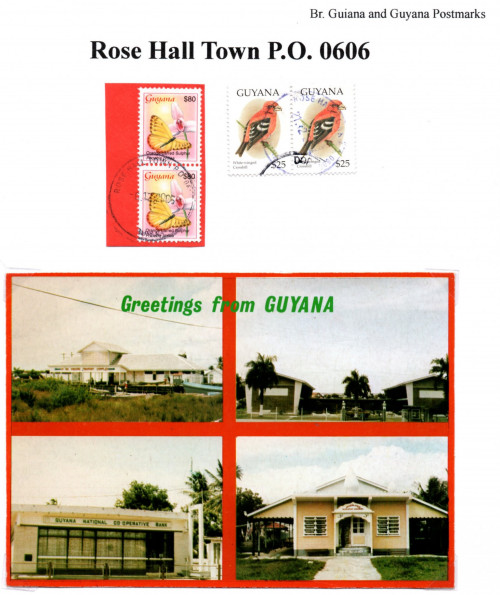guyana rose hall town p.o. 0606
