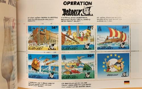 Guernsey, Scott Nr 502a (1992) Prestige Booklet Stamp Pane 4