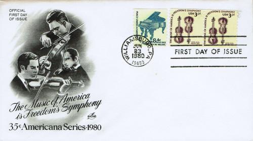 Americana Series - America's Music. USA, Scott Nr 1813 (1980)