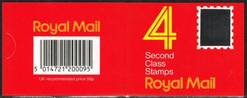 23-08-1988 DB16(6) 4 x 14p, code P booklet.