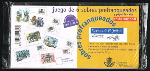 1998, Correspondencia Epistolar Escolar, Sobres, Lote 3 de 4