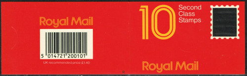 11-10-1988 DB19(2) 10 x 14p, code R booklet.