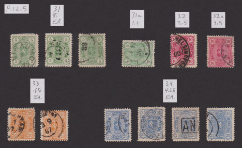Early postage stamps of Finland