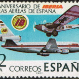1977-Espana-50o-Aniversario-IBERIA