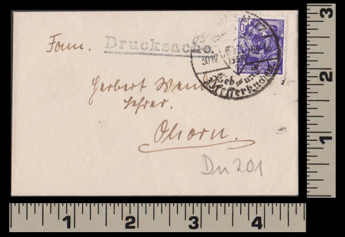 Small Cover from the DDR 1953-1230