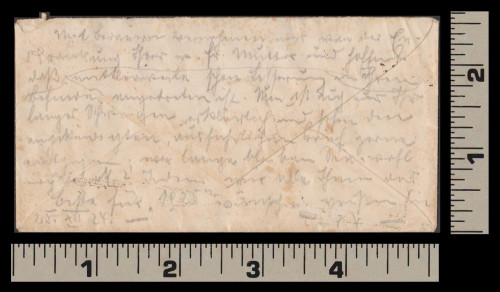 Writing on back dated Christmas Day, 1924
